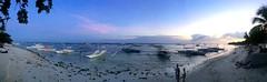 Coucher de soleil sur Alona Beach