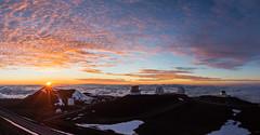 Mauna Kea Sunset (geekyrocketguy) Tags: sunset hawaii telescope subaru hawaiian astronomy telescopes keck maunakea jcmt irtf