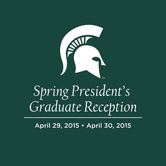 Photo representing Spring President's Graduate Reception, April 2015