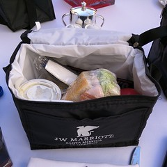 The JW Marriott has taken the boxed lunch to a whole new level!