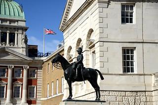 Garnet Wolseley , 1st Viscount Wolseley Monument in London , England , UK