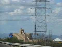 High voltage (Dan_DC) Tags: arizona plant tower energy tucson utility powerlines i10 highvoltage powergeneration tucsonelectricpower