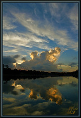 It (WanaM3) Tags: park morning sunlight seascape reflection nature water sunrise landscape texas sony bayou vista pasadena canoeing paddling bayareapark clearlakecity a700 armandbayou sonya700 wanam3
