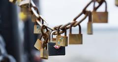 Locks (A. J. Scott) Tags: street lines photography patterns sony locks padlocks a6000 sonya6000