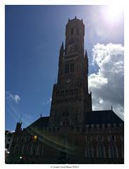 Belfort / Campanario de la lonja (carmen.gb) Tags: brujas brugge bruges brugse brgger belgium belgique flemish flandes flandria