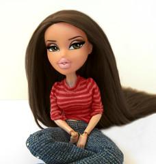 "Maxine's My New BFF 4- Week 8 ""Rule 63"" - Miss Gabi as ""Ollie Patel"" (Bratzjaderox) Tags: gender swap diva brunette pose recreate rule 63 custom ooak doll miss gabi gabriella galaxy bratz indoors editing mattel mga mgae barbie"