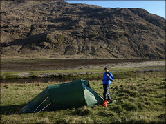 Camp at Sourlies (5/16 an021) (Ted and Jen) Tags: knoydart sourlies camp tgoc scotland greatoutdoorchallenge