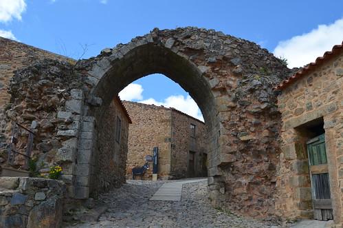 The village gates