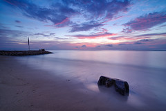 20160531-IMGP1551 (jenkwang) Tags: pentax k1 samyang 1428 landscape sunrise bali indonesia sanur beach