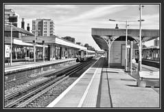 04.07.16 How many Bridges to Anerley.. (Tadie88) Tags: nikond7000 nikon18200lens norwoodjunction london stations tracks signals platforms bridges blackwhite railwayviews