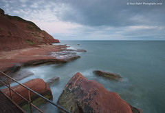 Orcombe Point, Start Of The Jurassic Coast Line (Daryl 1988) Tags: coast coastline devon waterscape landscape orcombe point headland exmouth uk england beautiful rocks sandstone eastdevon nationaltrust sky sunset longexposure jurassic sea seaside nikon d300
