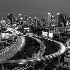 DSC_3805 (Ignacio Blanco) Tags: thailand bangkok metropolis oriental orientalcity future night lighttrails longexposure infrastructure highway cityscape skyscrapers skyline vantagepoint ratchapraroptowermansion