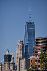 1WTC and Neighbors (Joel Raskin) Tags: 1wtc 1worldtradecenter nyc newyorkcity cityscape freedomtower lumix zs100 tz100 30parkplace