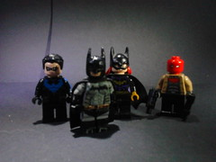 they make you week (JJ Customs) Tags: lego batman bat family red hood night wing girl arkham city jj customs