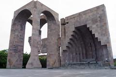 Echmiadzin Open Air Altar (Aigred) Tags: armenia echmiadzin vagharshapat