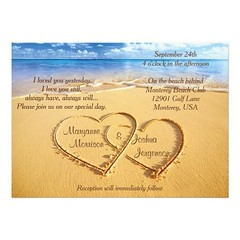 (Names in Hearts on the Beach Wedding Invitation) #Anniversary, #Beach, #Birthday, #Celebration, #Dinner, #Engagement, #Event, #Hearts, #Ocean, #Party, #Quinceanera, #Reception, #Rehearsal, #Retirement, #Rsvp, #Sand, #SaveTheDate, #Sea, #Shower, #Wedding (CustomWeddingInvitations) Tags: names hearts beach wedding invitation anniversary birthday celebration dinner engagement event ocean party quinceanera reception rehearsal retirement rsvp sand savethedate sea shower is available custom unique invitations store httpcustomweddinginvitationsringscakegownsanniversaryreceptionflowersgiftdressesshoesclothingaccessoriesinvitationsbinauralbeatsbrainwaveentrainmentcomnamesinheartsonthebeachweddinginvitation weddinginvitation weddinginvitations