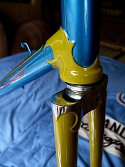 Denison Frame (9) (moonm) Tags: bikes uk 531 classic cycling frame lugs steel vintage