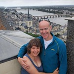 A day off from flying  - the top tower of Chateau Saumur