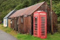 ET Phone Home (RoystonVasey) Tags: canon eos m 1855mm stm zoom alba scotland loch toirbheartan torridon dobaig diabaig inbhir iliginn inveralligin coastal walk assault course telephone box red