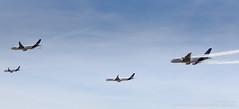 Airbus Family Flight (Flox Papa) Tags: fwwcb airbus industrie a330203 cn 871 fwxwb a350941 001 fwnew a320251nwl 6419 fwwdd a380861 004