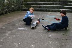 Cork, 2013, random kids playing (zsofianyu) Tags: republic ireland cork random unknown children kids little playing outdoor street spontaneous