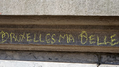 2016-04-17_16-12-05_ILCE-6300_9671_DxO (miguel.discart) Tags: 160mm 2016 belgium bru brussels brusselsattack bruxelles bxl bxllove bxlloveyou createdbydxo dxo e18200mmf3563ossle editedphoto focallength160mm focallengthin35mmformat160mm freedom iambrussels ilce6300 iso160 jesuisbrussels jesuisbruxelles liberte pancarte pedestrian photoderue photography pietonnier prayforbrussels prayforhumanity sign solidarity sony sonyilce6300 sonyilce6300e18200mmf3563ossle street streetphotography