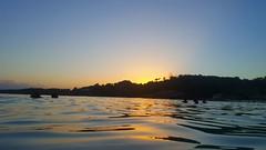 Eau calme au soleil couchant (Mm D'amou) Tags: sunset galaxy s6