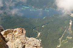 Eibsee (sillie_R) Tags: austria cloud ebsee germany landscape mountain rock zugspitze ehrwald tirol