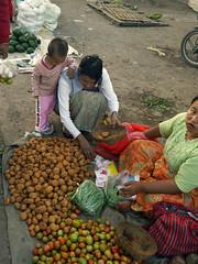 Kalaw Market Scene, Burma (themanwithsalthair) Tags: market potatoes kalaw burma myanmar