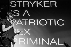 Day 316: The unvarnished truth about Stryker Spurlock (allankcrain) Tags: stryker fatalbusaccident strykerspurlock bw blackandwhite heavyanchor theheavyanchor standup comedy pregnancy