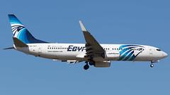 EgyptAir 737-800 (N77022) Tags: frankfurt eddf fra airport plane spotting airplane germany sugec egyptair boeing 737800 738 b738 final approach landing day