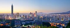 台北城 (aelx911) Tags: sunset night landscape cityscape taiwan 101 taipei hdr a7 虎山峰 ilce7 sel2470z fe2470f4