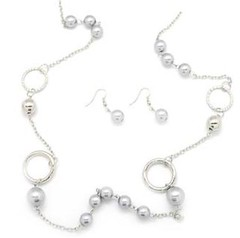 5th Avenue Silver Necklace P2210P-4
