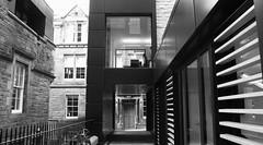 Advocate's Close 03 (byronv2) Tags: blackandwhite bw building history monochrome architecture stairs scotland blackwhite edinburgh steps oldtown modernarchitecture edimbourg advocatesclose architectureaward riasandrewdoolanbestbuildinginscotlandaward