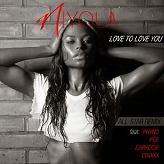 Niyola  Love To Love You (Remix) ft. Phyno, Sarkodie, Lynxxx and Poe (tobericng) Tags: b r audio naija