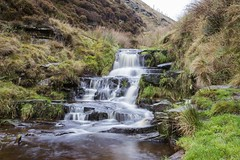 Waterfall, Snake Pass (Ian M Bentley) Tags: november waterfall force peakdistrict flowing snakepass a57 24105mm canon6d