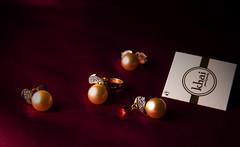 Pearls (Ganesh Ramalingam) Tags: sea golden south pearls ring jewellery earrings pendant