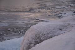 DSC_5005 (BadPeter!) Tags: park winter sunset sun lake toronto ontario canada cold rabbit ice water colors rocks stones deep freeze leslie thompson