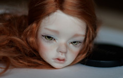IMG_8973 (greenwolfy) Tags: makeup bjd dim laia faceup