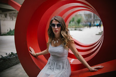 (kayla iso) Tags: red fashion vancouver portraits 14 courtney editorial sigma30mm14 mineandyours canon6d