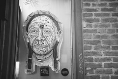 Indio. (R Image Studio) Tags: graffiti sticker artist native tags des kobe american pasted local moines burners