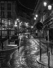Streets of Lisbon, Portugal (Chas56) Tags: street nightphotography travel people