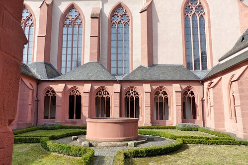 Kreuzgang, Stephanskirche Mainz