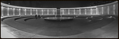 The centre of the maze (Photography dock) Tags: china bw panorama white black night dark lights pano centre xian maze
