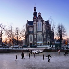 A winter image of the Westertoren seen from the Keizersgracht (B℮n) Tags: winter people cold holland ice hockey netherlands dutch amsterdam kids geotagged fun frozen chair downtown iceskating skating joy kinderen nederland freezing first canals age skate stick anton temperature stoel topf100 mokum occasion rare grachten pleasure skates blades winters stad harsh keizersgracht jordaan 2012 westertoren d66 ijs gluhwein schaatsen koud amsterdamse westermarkt childern ijspret hendrick bruegel chocolademelk meester grachtengordel hollandse oudhollands 100faves pieck gekte winterse sferen avercamp ijzers ijsplezier jordanezen ijsnota