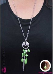 Glimpse of Malibu Green Necklace K1A P2810A-2..