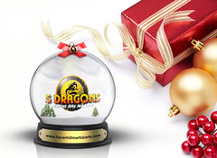 christmas (NoureddineBGB) Tags: christmas red ball gold decoration celebration whitebackground ornament gift present ribbon copyspace deco bauble isolated