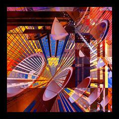 Nashville - Future Land (GAPHIKER) Tags: art colors fun lights nashville conventioncenter rotation polar att hss happyslidersunday