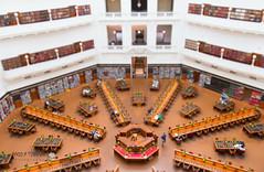 Miniature Melbourne: Victorian State Library, Panopticon (peterriordan70) Tags: miniature fake shift melbourne faux tilt tiltshift