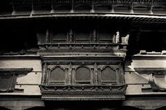 Carved wooden windows in Kathmandu (Claire Ingram) Tags: wood nepal windows carving kathmandu